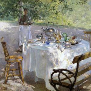 Breakfast Time, 1887 by Hanna Pauli