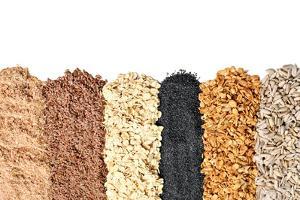 Whole Grains, Oats, Flax, Poppy, Wheatgerm, Granola, Sunflower Seeds. by Hannamariah