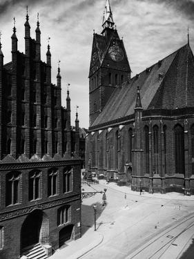 Hannover Town Hall and Church