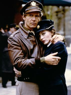 HANOVER STREET, 1979 directed by PETER HYAMS Harrison Ford and Lesley-Anne Down (photo)