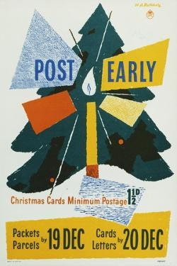 Post Early by Hans Arnold Rothholz