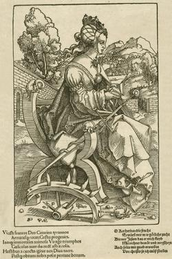 Saint Catherine, 1505-07 by Hans Baldung Grien