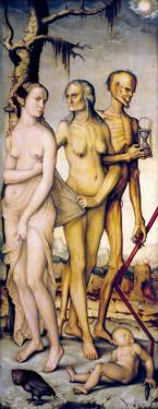 The Three Ages of Man and Death by Hans Baldung Grien