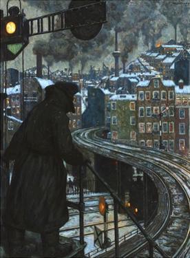 Arbeiterstadt (Working Class City) by Hans Baluschek