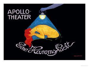 Eine Harems Nacht at the Apollo-Theater by Hans Baluschek