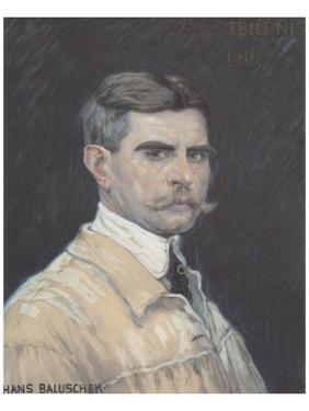 Self Portrait by Hans Baluschek