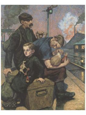 The Emigrants by Hans Baluschek