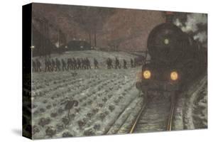 To the Mine by Hans Baluschek