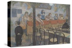 Variety Restaurant by Hans Baluschek