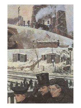 Winter during War by Hans Baluschek