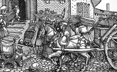 C16 Marriage Dowry by Hans Burgkmair