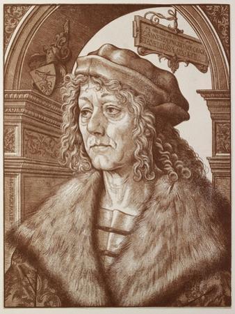 Portrait of Johannes Paumgartner, 1512 by Hans Burgkmair