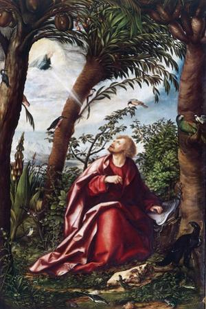 Saint John's Vision at Patmos by Hans Burgkmair