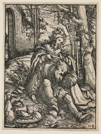 Samson and Delilah, C. 1519 by Hans Burgkmair