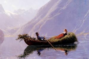 A Summer Romance by Hans Dahl