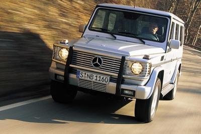 Mercedes G 400 by Hans Dieter Seufert