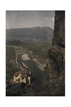 A View from the Calvarienberg into the Adige Valley by Hans Hildenbrand