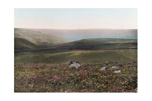 A View of the Valleys, Hills, and the Sea of Galilee by Hans Hildenbrand