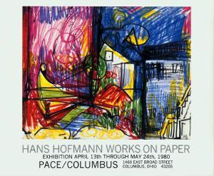 Landscape-Works on Paper by Hans Hofmann