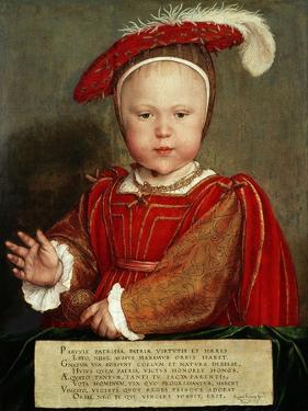 Edward Vi as a Child, C. 1538 by Hans Holbein the Elder