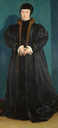 Christina of Denmark (1522-90) Duchess of Milan, Probably 1538 by Hans Holbein the Younger