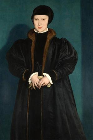 Christina of Denmark, Duchess of Milan in Mourning by Hans Holbein the Younger