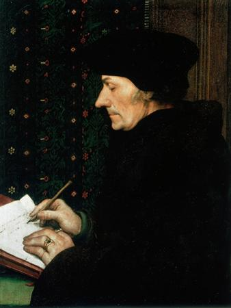 Desiderus Erasmus, Dutch Humanist and Scholar, 1523 by Hans Holbein the Younger
