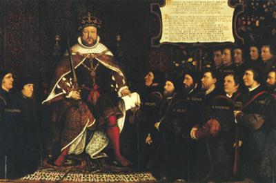 Henry Viii and the Barber Surgeons; Royal College of Surgeons by Hans Holbein the Younger