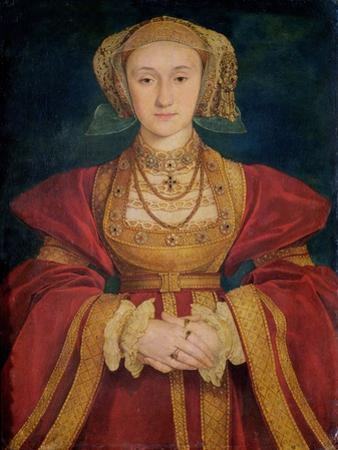 Portrait of Anne of Cleves (1515-57) 1539 by Hans Holbein the Younger
