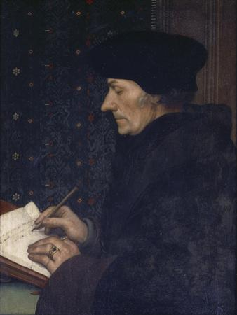 Portrait of Erasmus by Hans Holbein the Younger