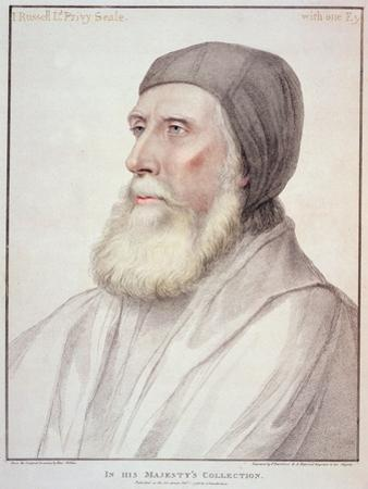 Portrait of John Russell 1st Earl of Bedford by Hans Holbein the Younger