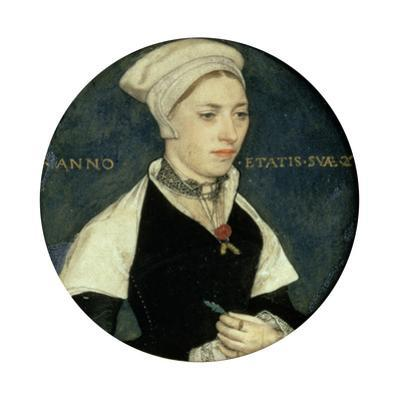 Portrait of Mrs Pemberton, C1535 by Hans Holbein the Younger