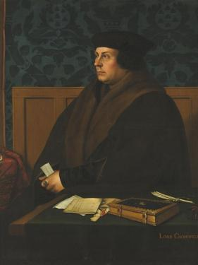 Portrait of Thomas Cromwell, 1st Earl of Essex by Hans Holbein the Younger