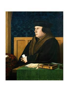 Portrait of Thomas Cromwell by Hans Holbein the Younger