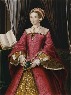 Portrait Print after Elizabeth Tudor by Hans Holbein the Younger