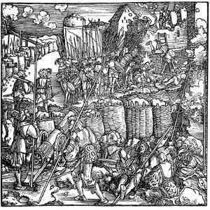 Siege of a Fortress, 1532 by Hans Holbein the Younger