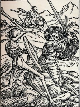 The Knight and Death, 1538 by Hans Holbein the Younger