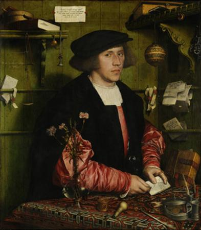 The Merchant Georg Gisze, 1532 by Hans Holbein the Younger