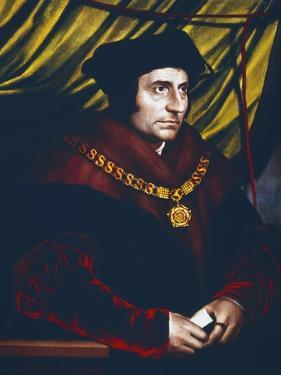 Thomas More, English Statesman, Scholar and Saint, C1527 by Hans Holbein the Younger