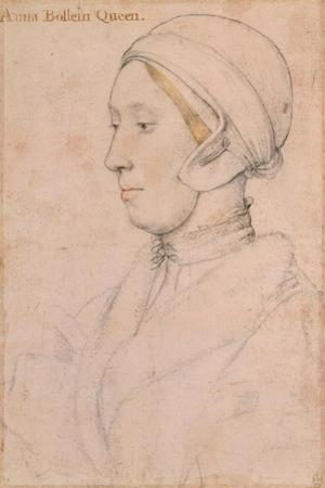 Unknown Lady (Anne Boley), 1536 by Hans Holbein the Younger