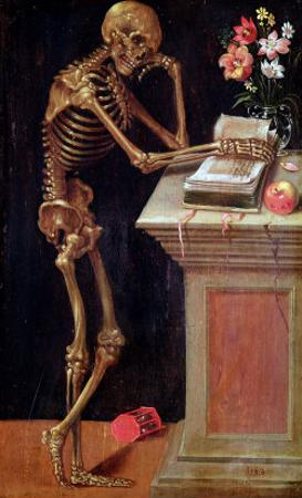 Vanitas, 1543 by Hans Holbein the Younger