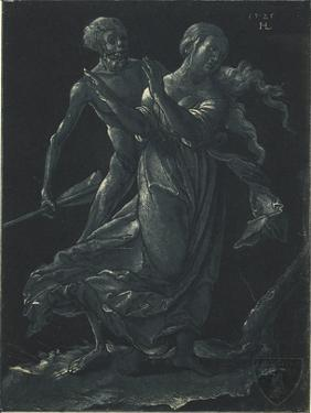Death and the Maiden by Hans Leu