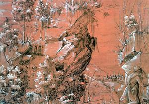 Saint Jerome in the Garden, C1510-1531 by Hans Leu the Younger