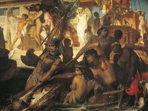 Hunting on Nile by Hans Makart