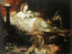 The Death of Cleopatra, 1875 by Hans Makart