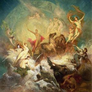 Victory of Light over Darkness, 1883-84 by Hans Makart