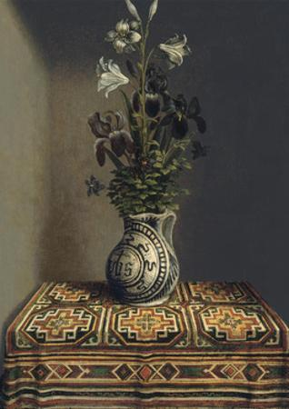 Flowers in a Jug, Ca 1485