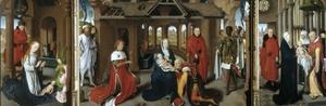 Nativity. The Adoration of the Magi. Purification, 1479-1480. by Hans Memling