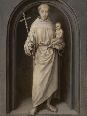 Saint Anthony of Padua, 1485-90 by Hans Memling