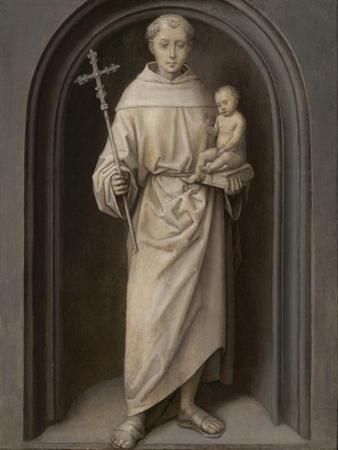 Saint Anthony of Padua, 1485-90 by Hans Memling